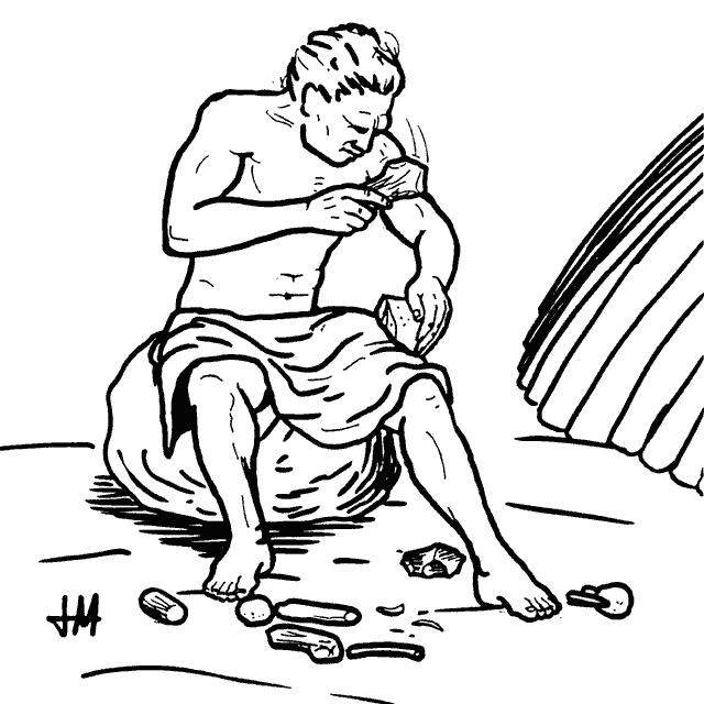 Talla l tica wikipedia la enciclopedia libre for Tecnica para pintar piedras