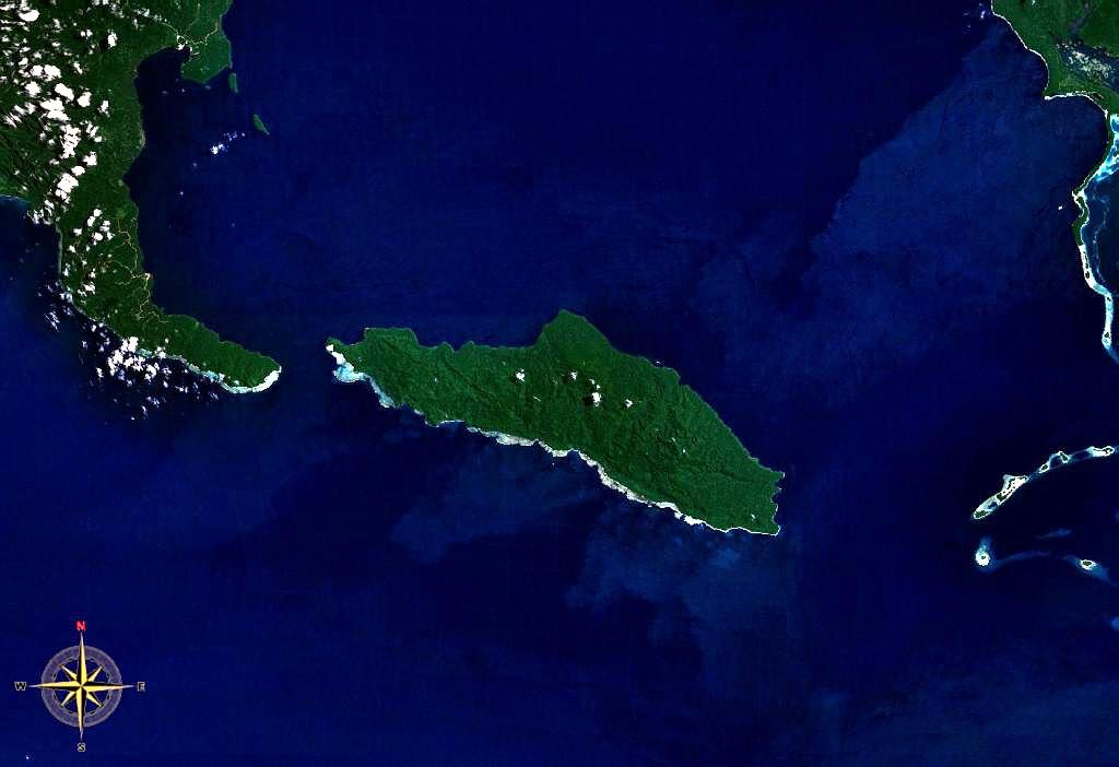 Southern South Island Map