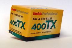 Kodak tri-x black and white film