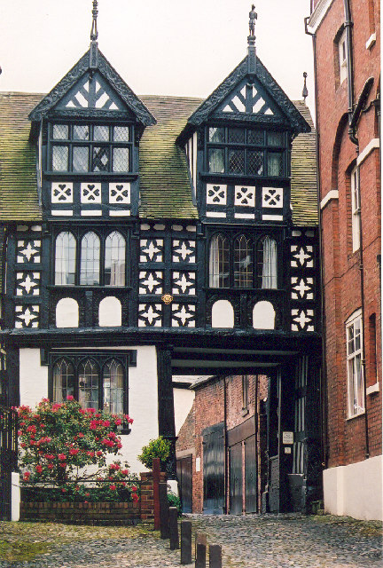 File Tudor Inn And Stables Shrewsbury Shropshire