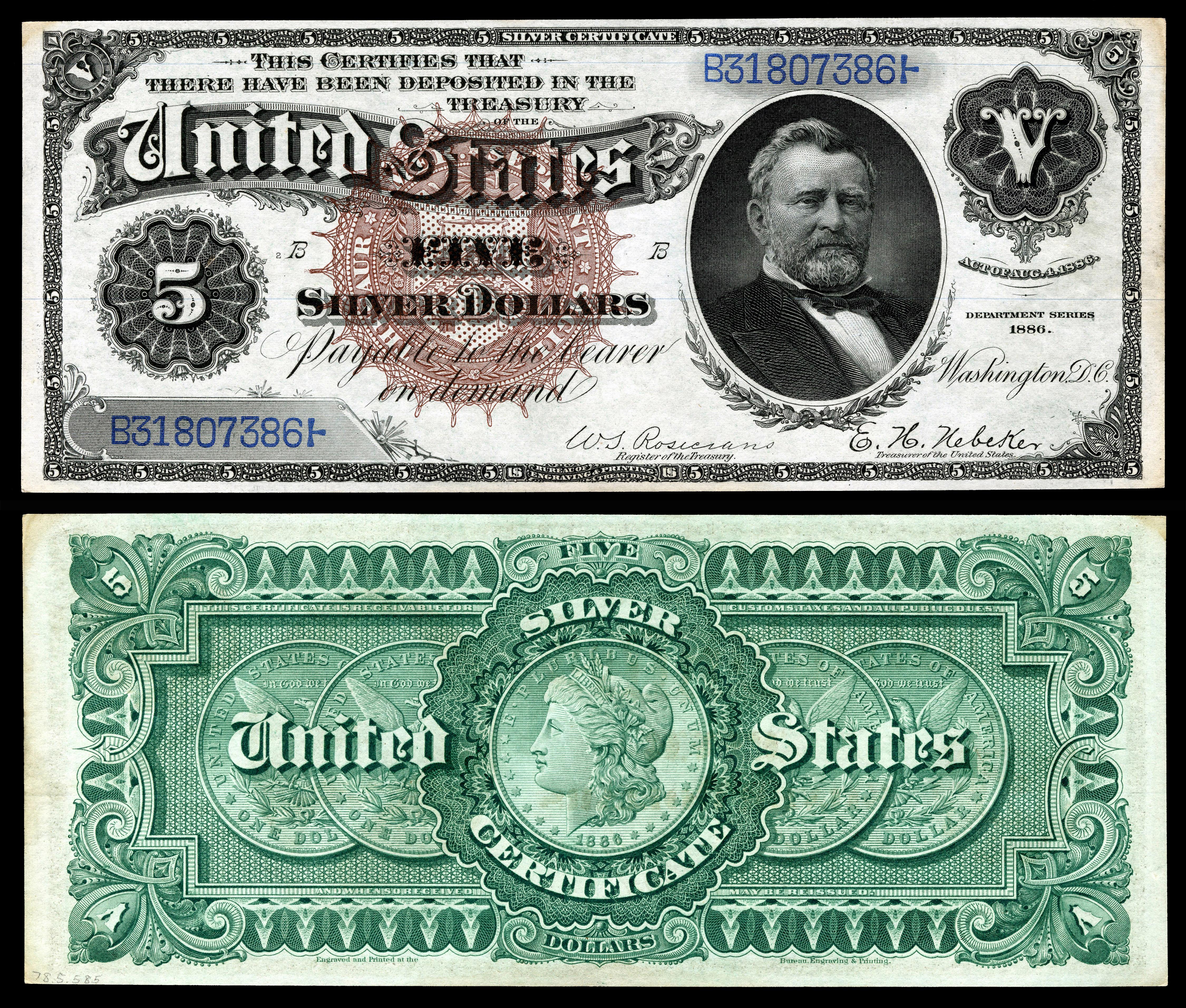 Silver Certificate United States Wikipedia