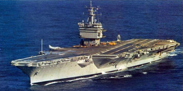 The time a nuclear aircraft carrier ran aground right before homecoming