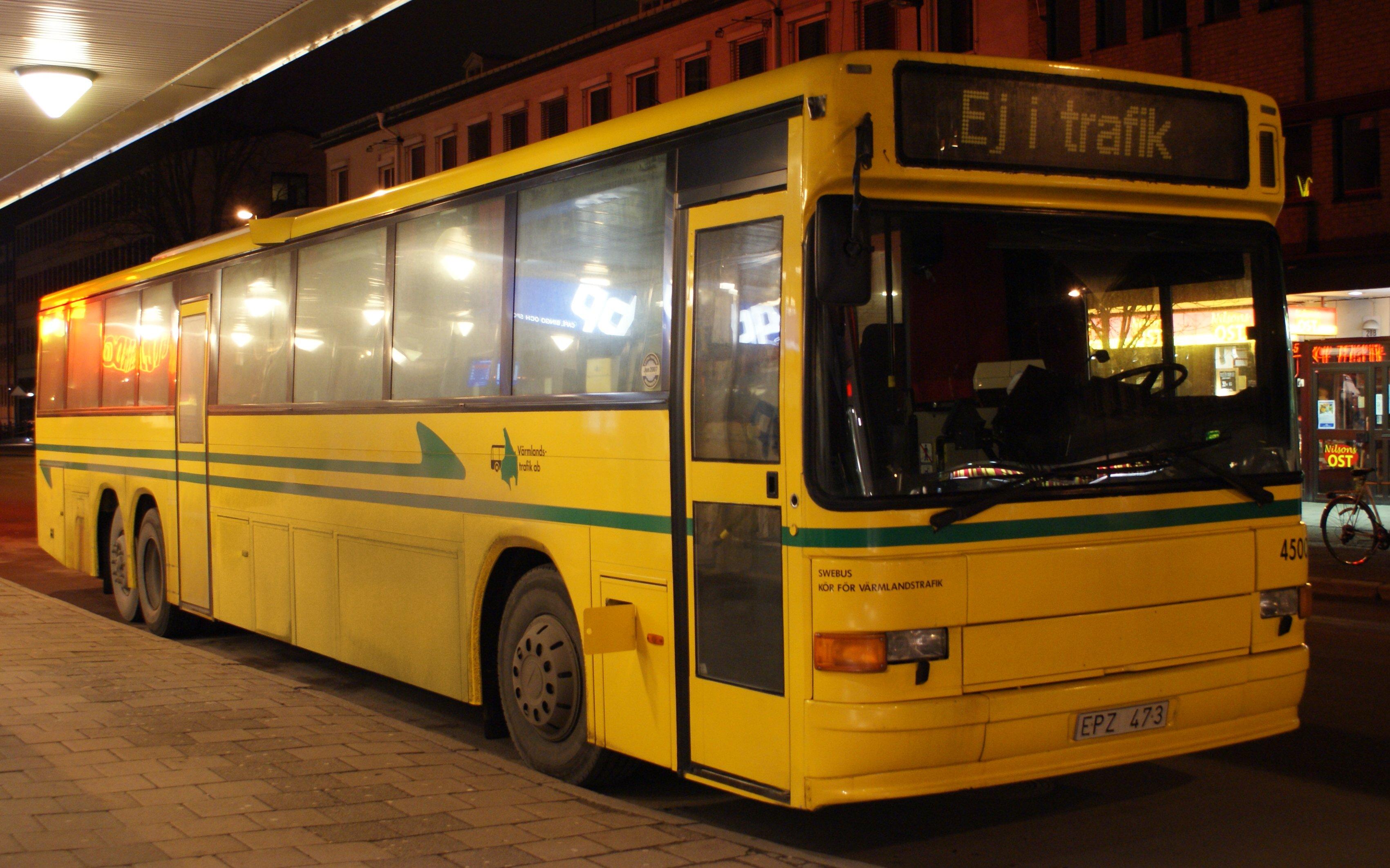värmlandstrafik buss
