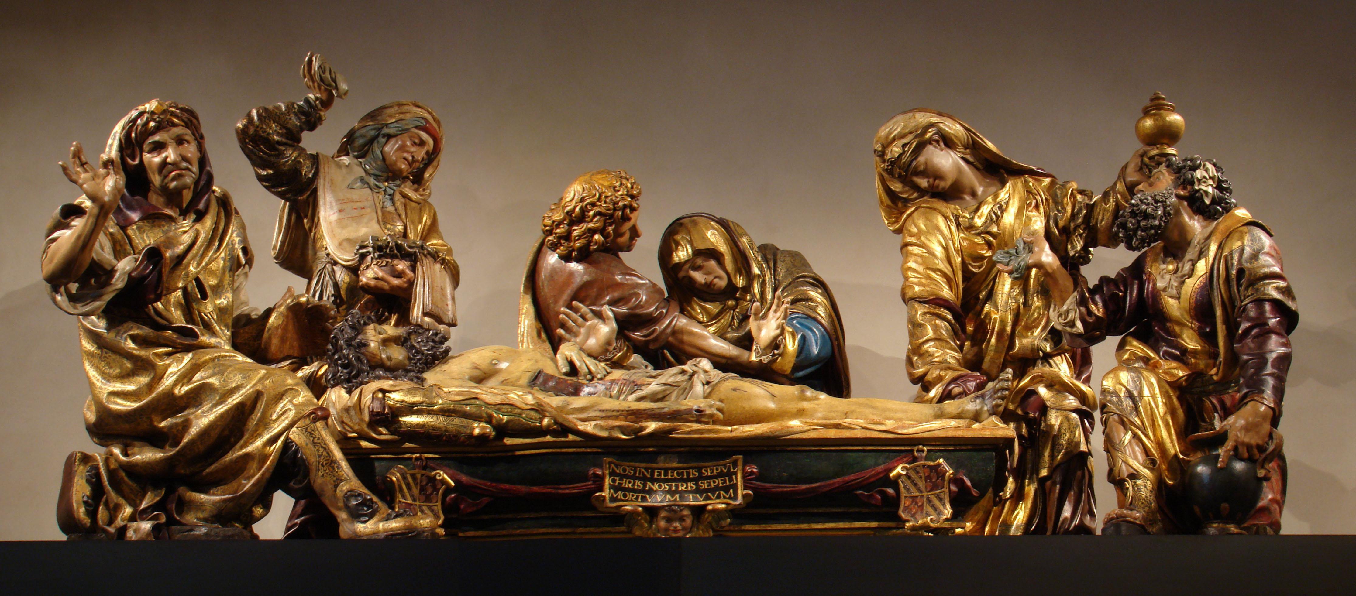 Juan de Juni FileValladolid museo escultura Santo Entierro de Juan de
