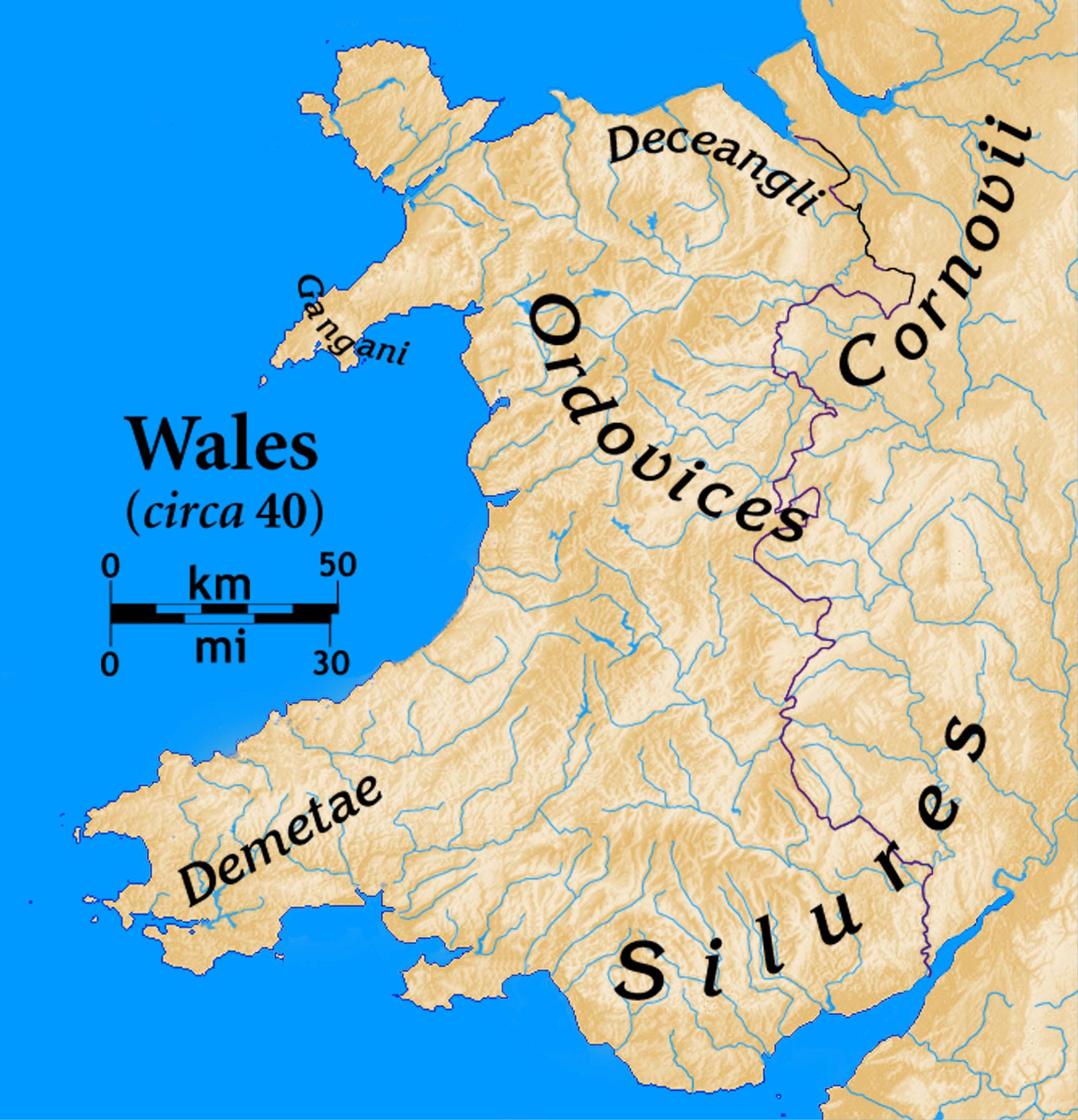 FileWalespreRomanjpg Wikimedia Commons - Where is wales