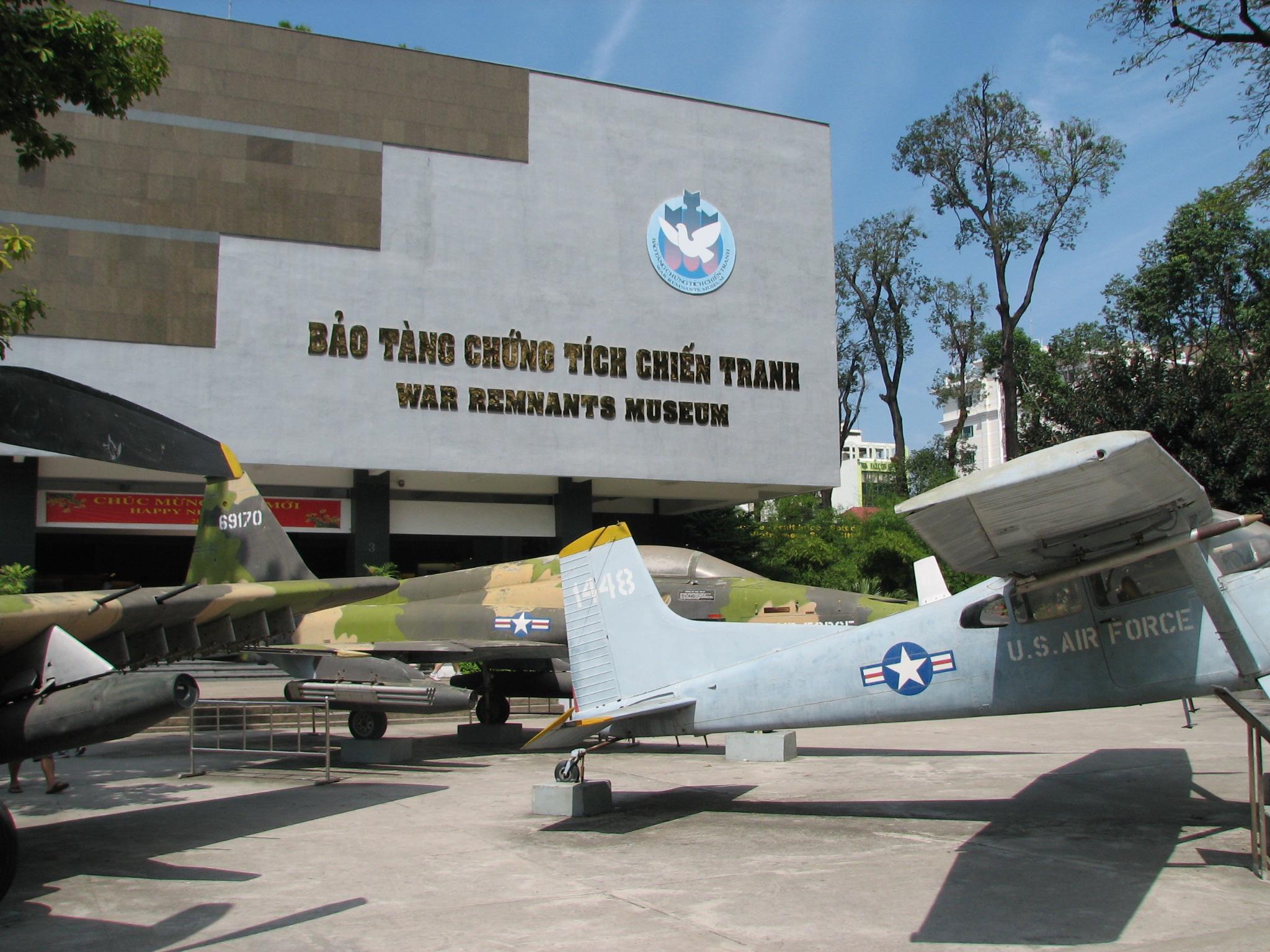 War Remnants Museum in Vietnam