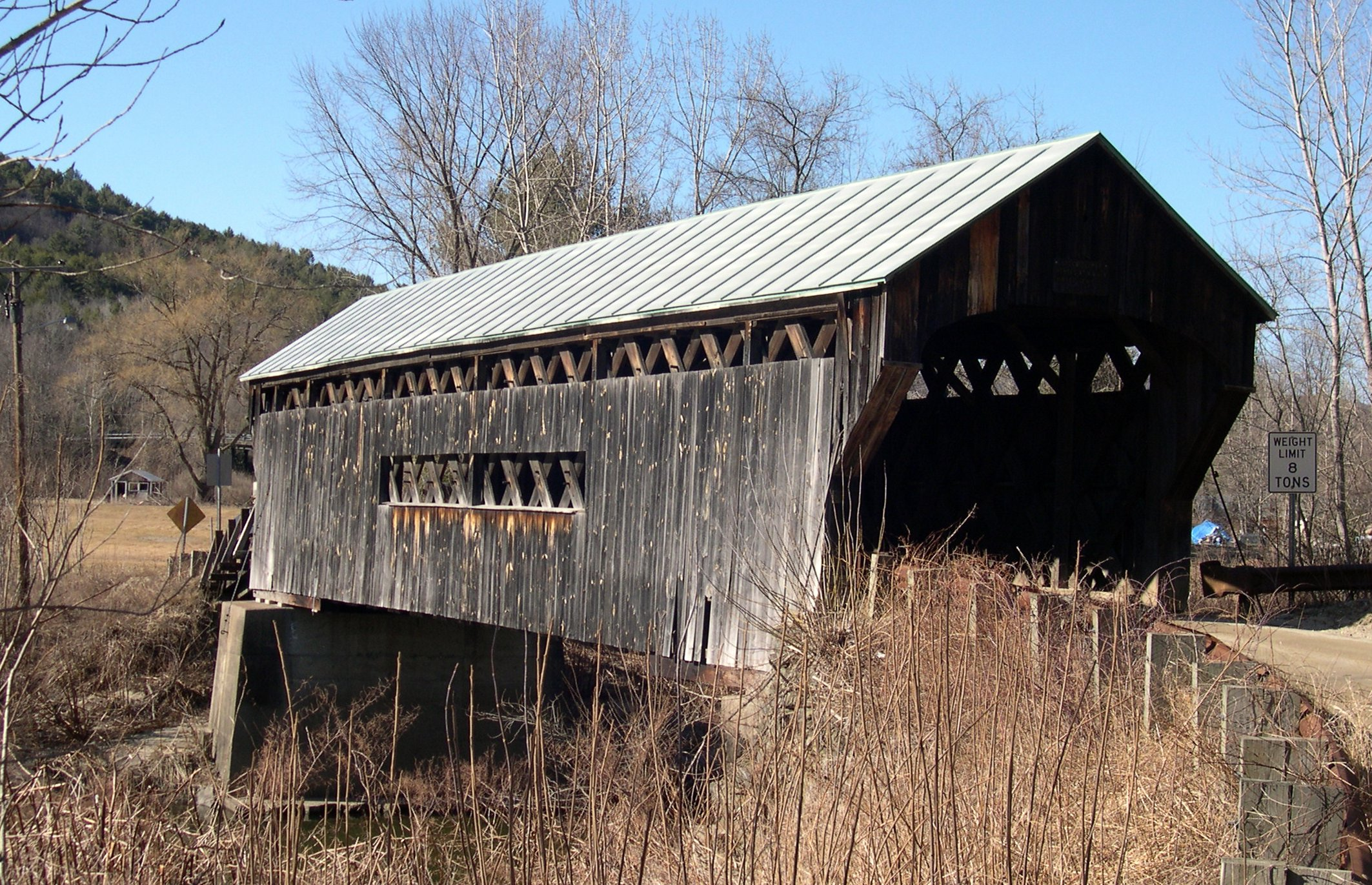 Rockingham VT Covered Bridge