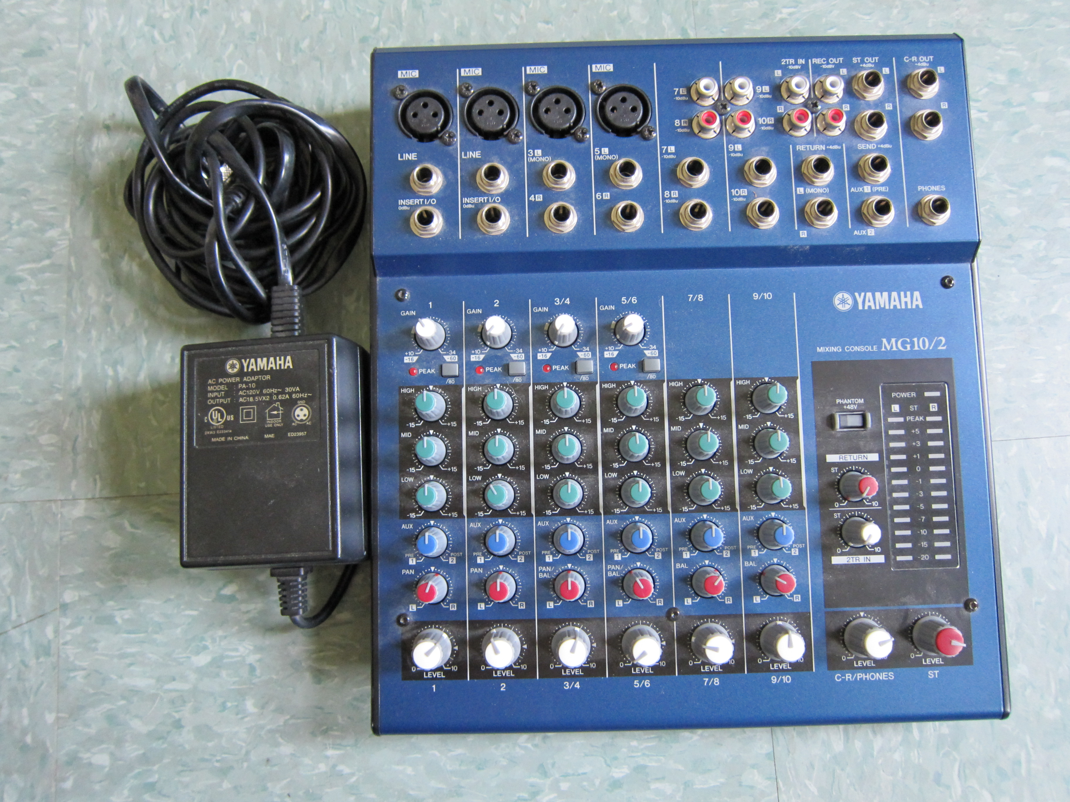 Yamaha Mg Mixer Record Into Audio Interface