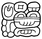 alt =Emblem glyph of Yaxchilán