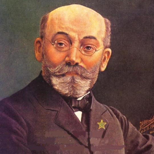 Biografia de Lázaro Luiz Zamenhof Zamenhof_portrait