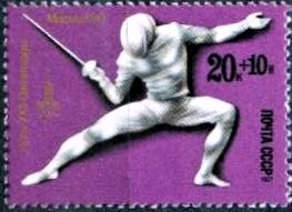 Fencing at the 1980 Summer Olympics – Mens sabre Fencing at the Olympics