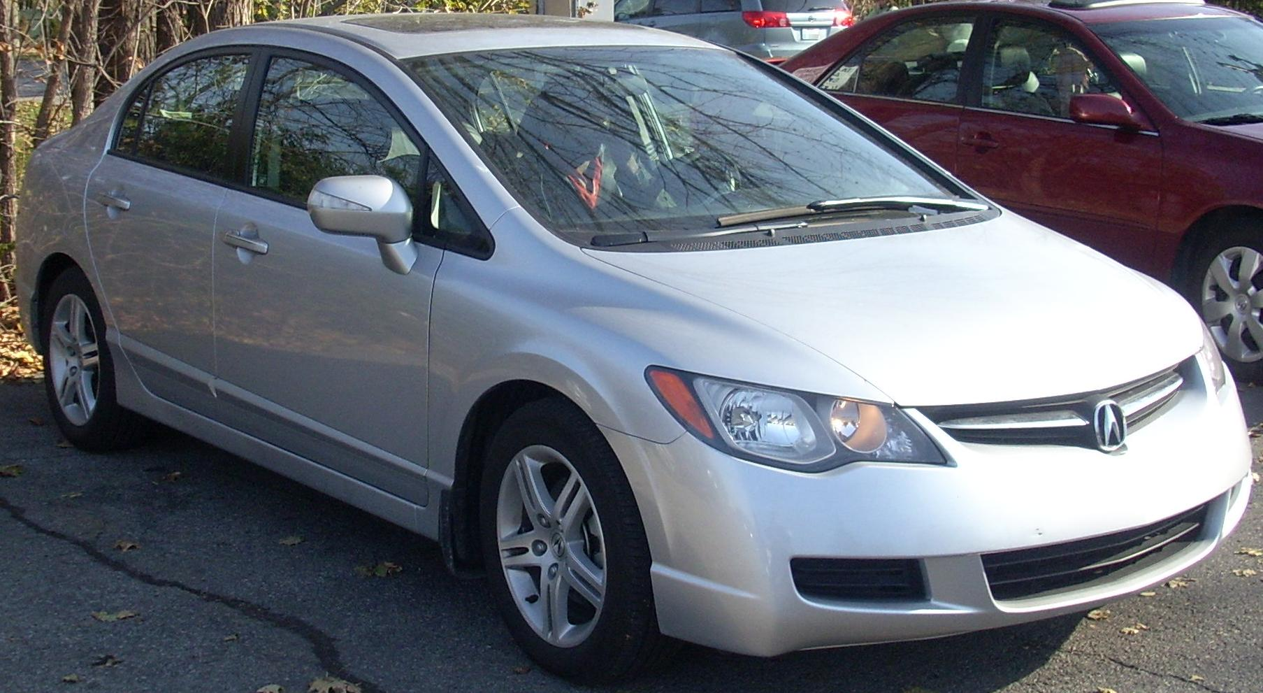 Honda civic acura