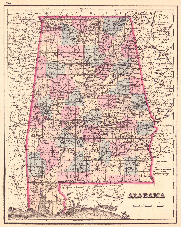 File Map Of Alabama Countiesjpeg Wikimedia Commons - Maps of alabama counties
