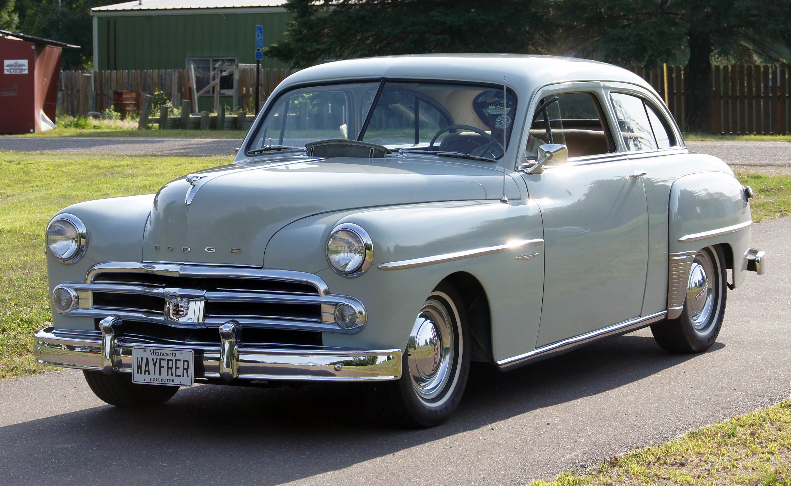 file 1950 dodge wayfarer 2 door sedan front