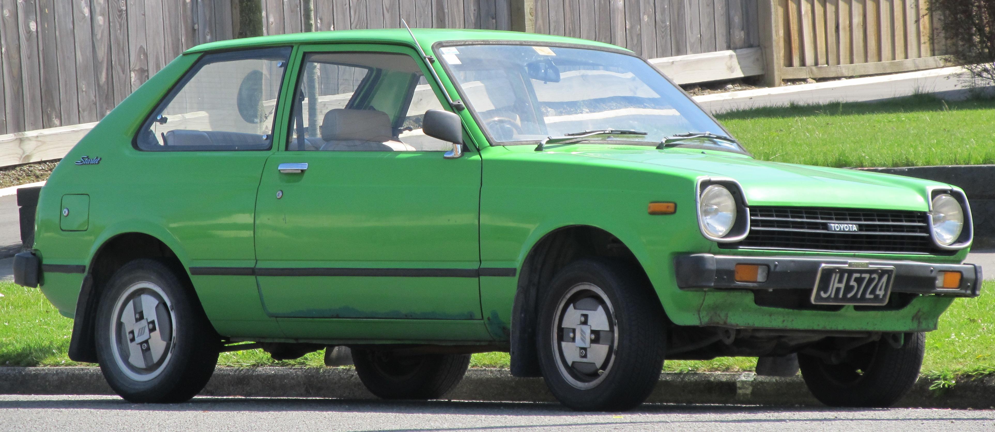 Cote Auto Toyota Starlet – Cote Auto gratuite avec Autodeclics