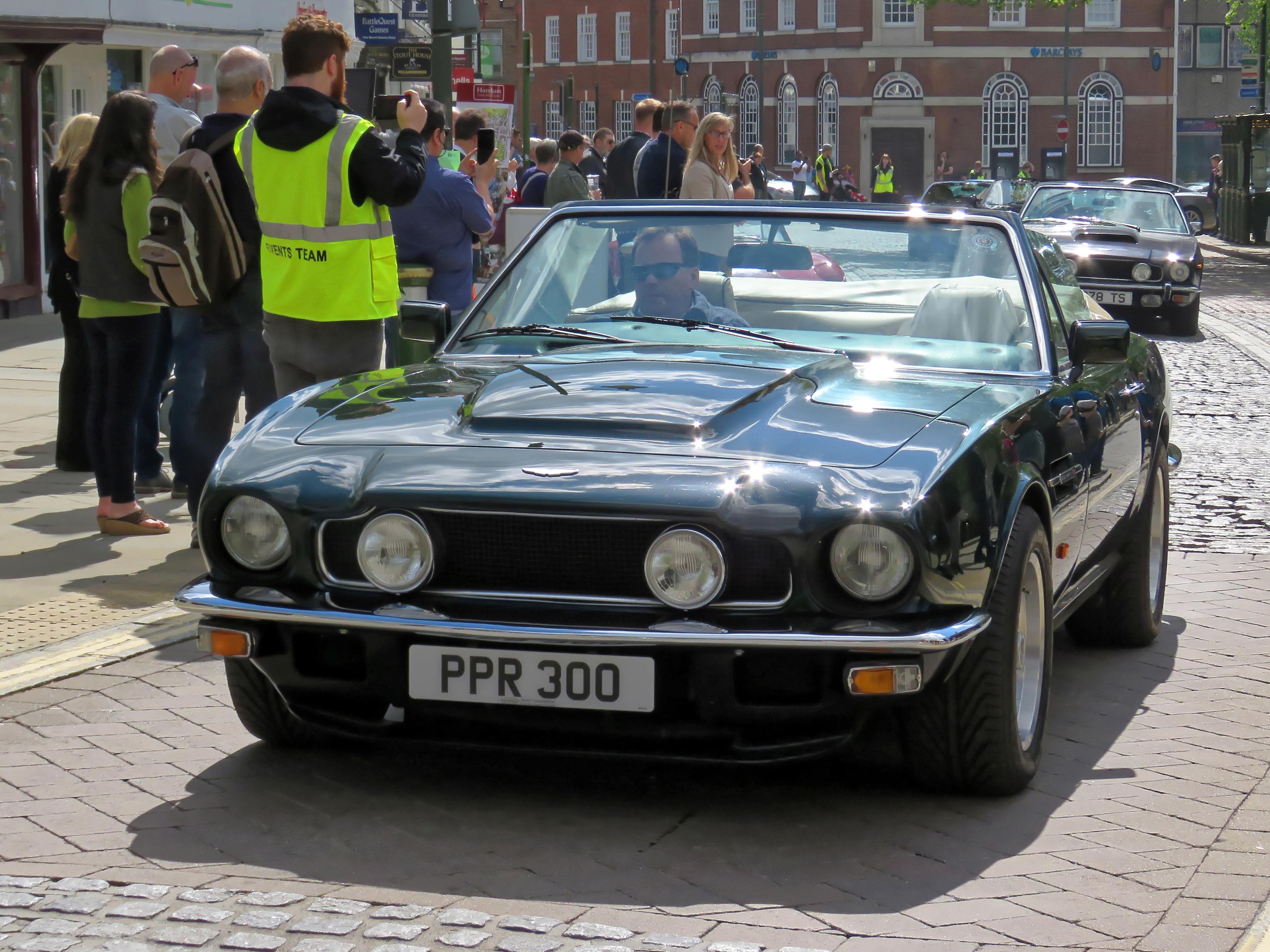 File 1984 Aston Martin V8 Volante At Horsham English Festival 2018 B Jpg Wikimedia Commons