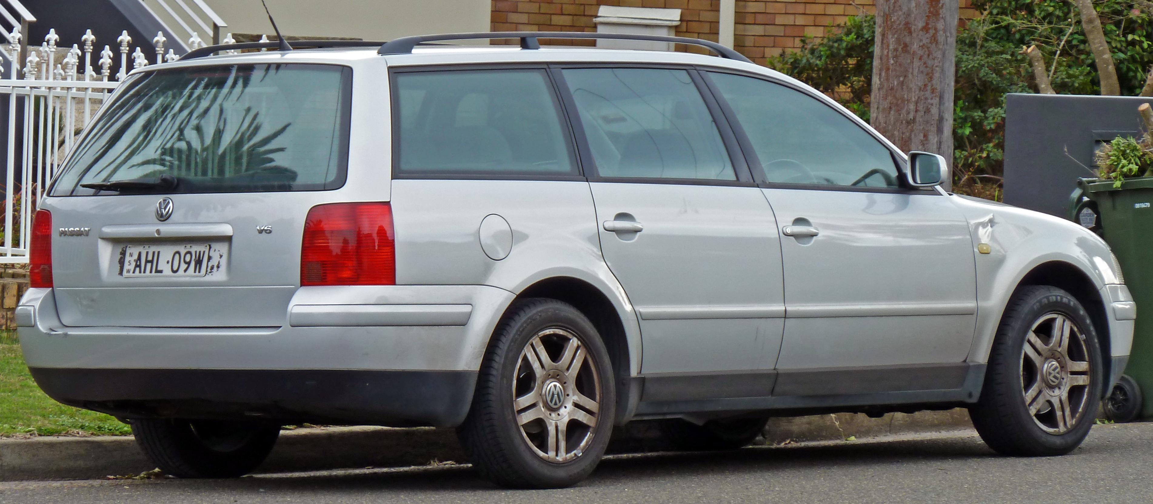 File 1998 2001 Volkswagen Passat 3b V6 Station Wagon