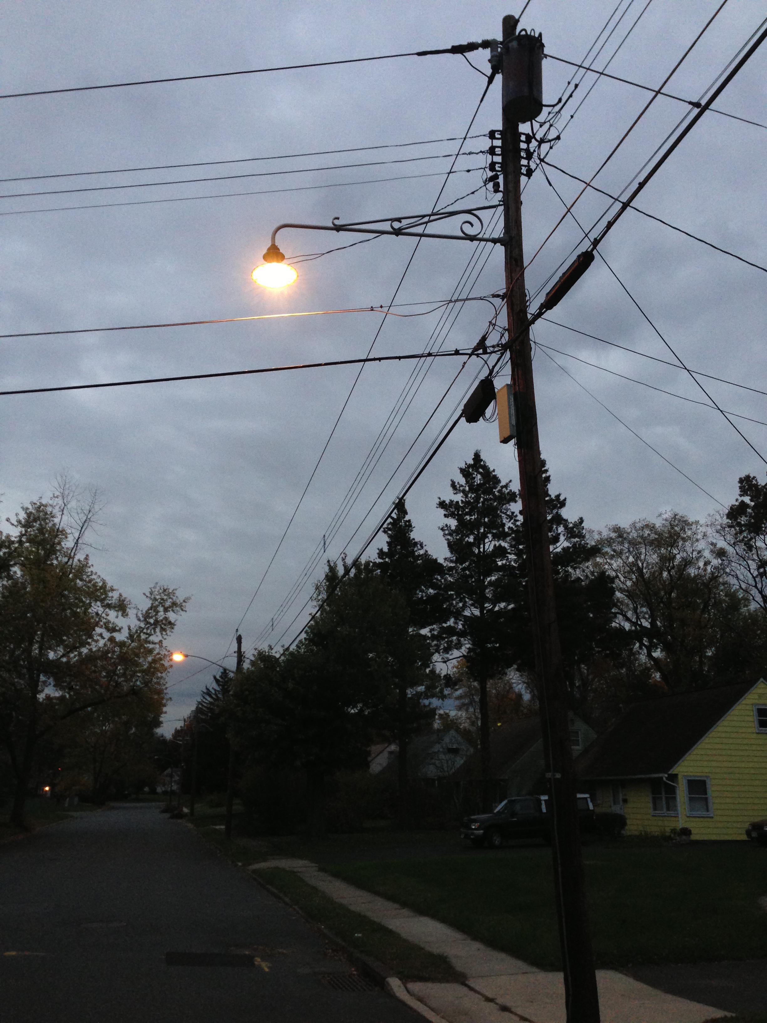 Street light and power light TV interference