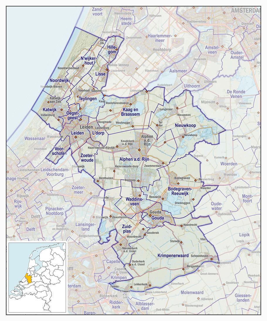 Veiligheidsregio Hollands Midden Wikipedia