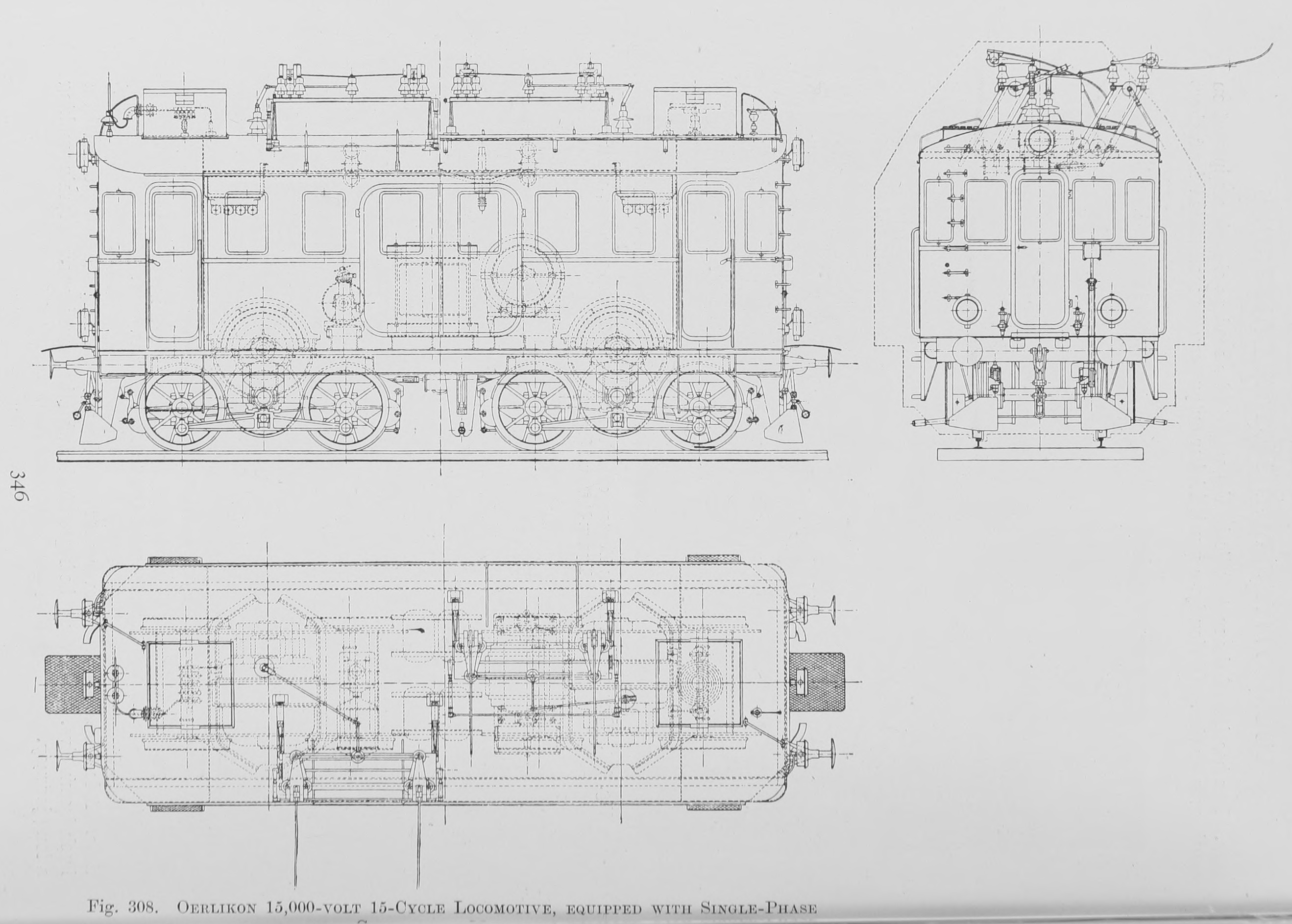 Oerlikon 15,000-volt 15-Cycle Locomotive, equipped with Single-Phase Commutator Motors.jpg