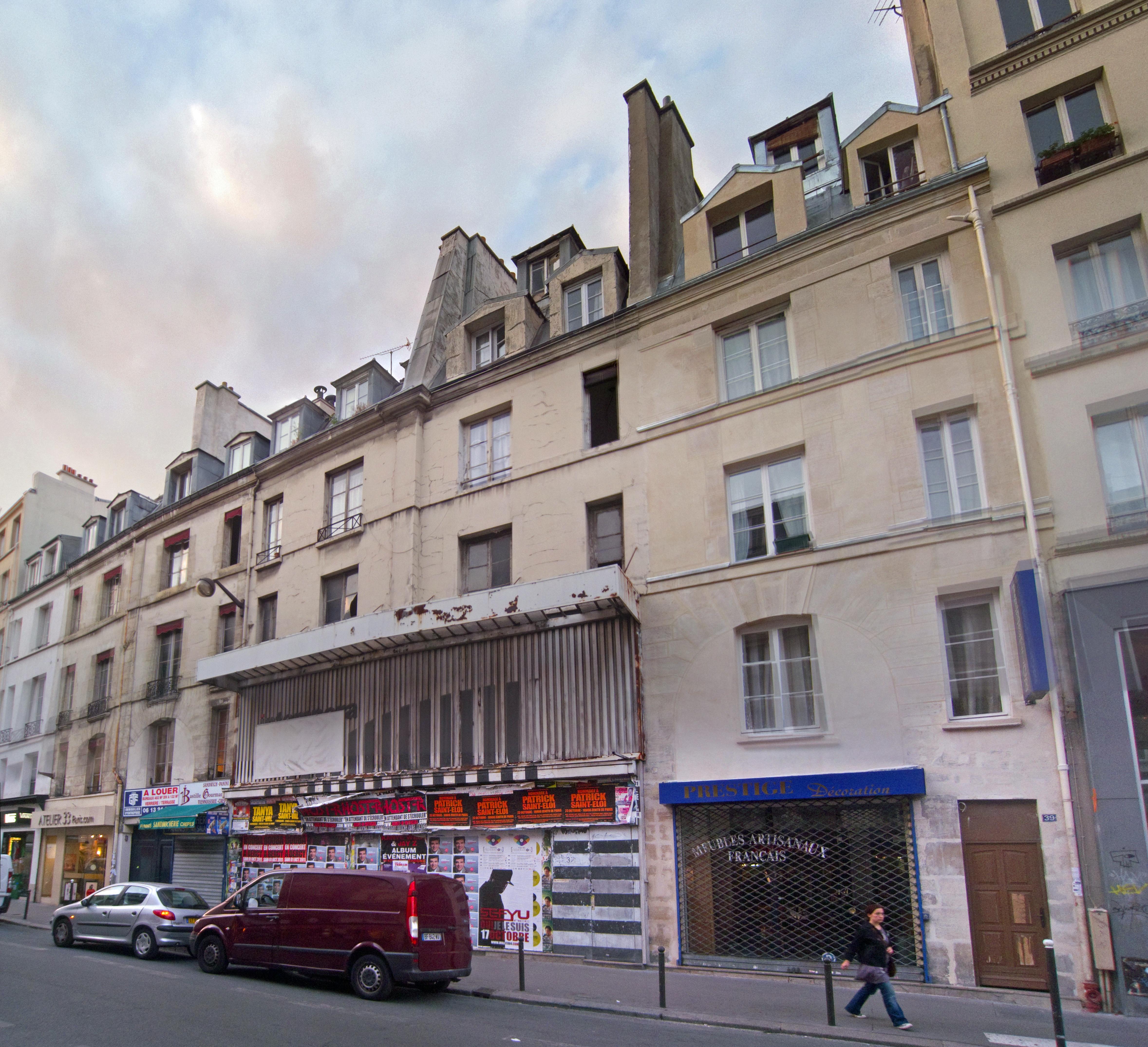 fichier 31 33 rue du faubourg saint antoine paris front. Black Bedroom Furniture Sets. Home Design Ideas