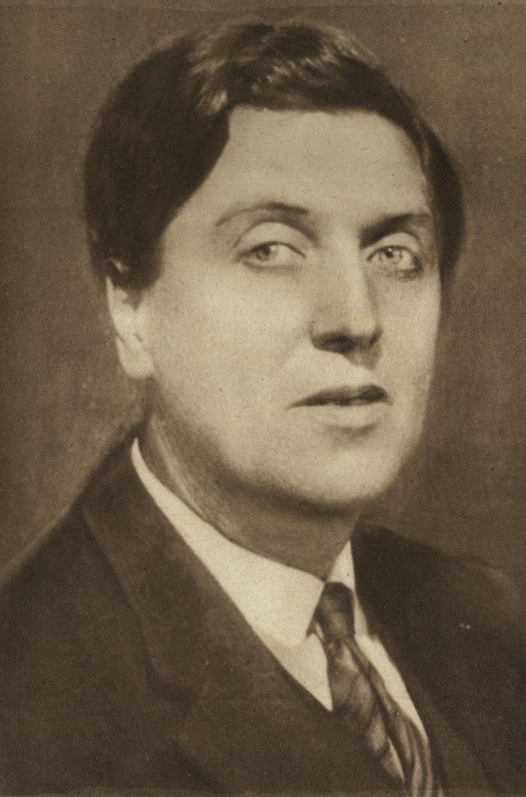 Alban Berg around 1930 (by [[Max Fenichel