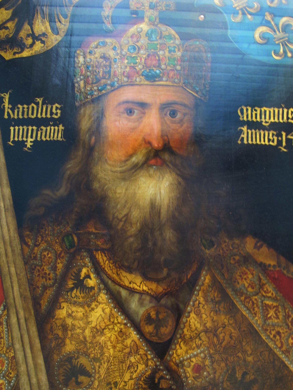 File Albrecht D 252 Rer Ritratto Dell Imperatore Carlo Magno