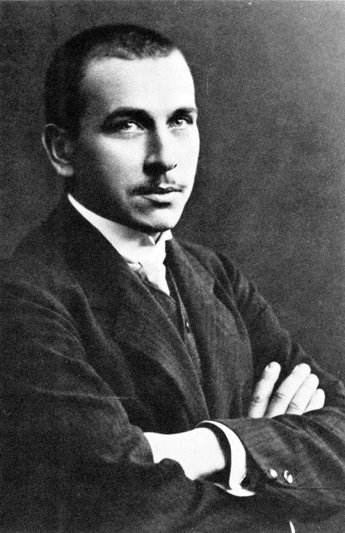 Fotografía de Alfred Wegener tomada en 1910