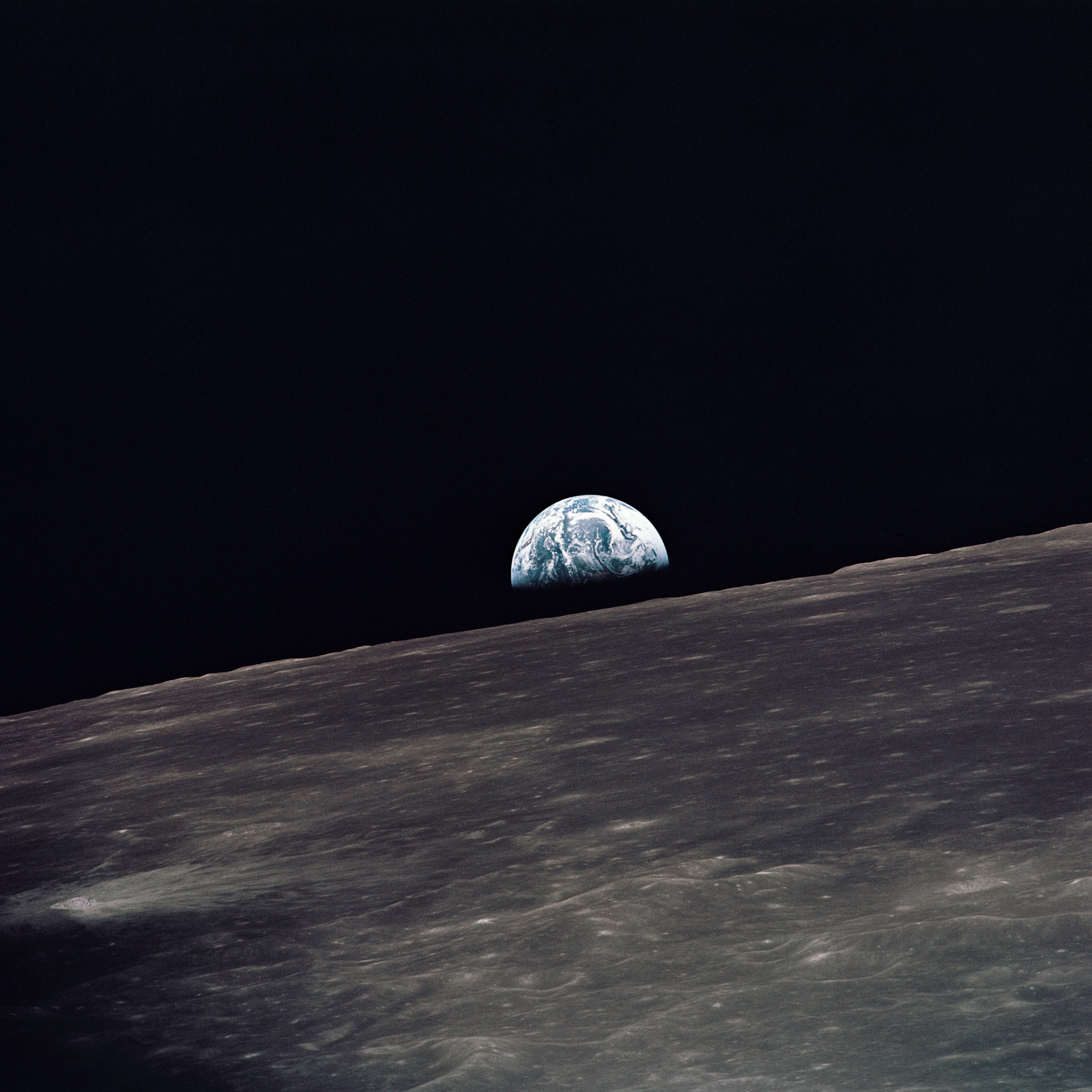 earthrise from moon apollo - photo #27