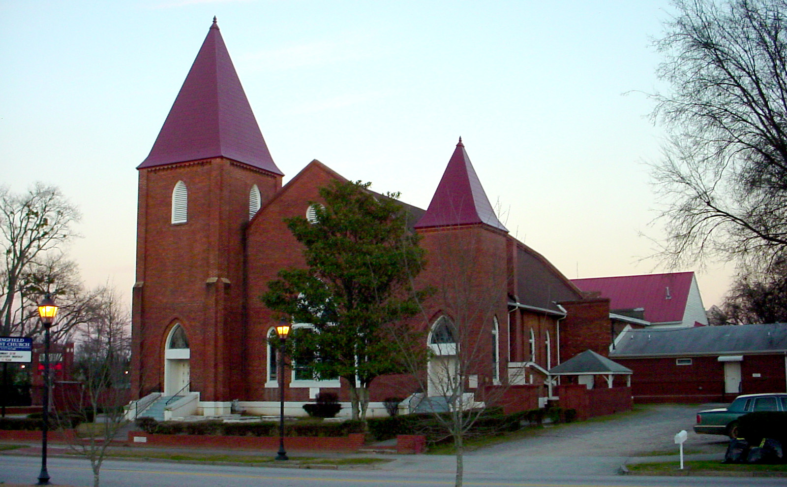 Superior Baptist Churches In Augusta Ga #1: Augusta_Georgia_Springfield_Baptist_Church.jpg