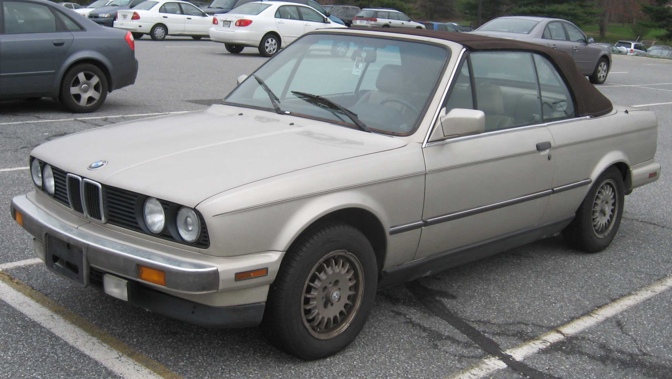 File Bmw E30 Convertible Jpg Wikimedia Commons