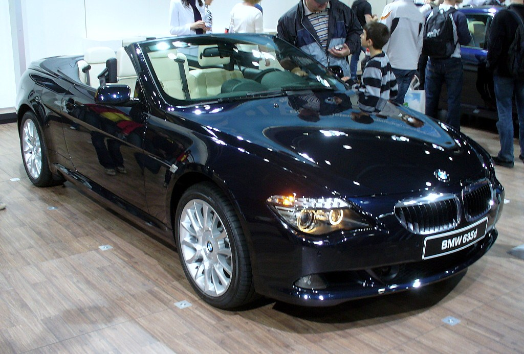 file bmw e64 635d cabriolet facelift jpg wikimedia commons. Black Bedroom Furniture Sets. Home Design Ideas