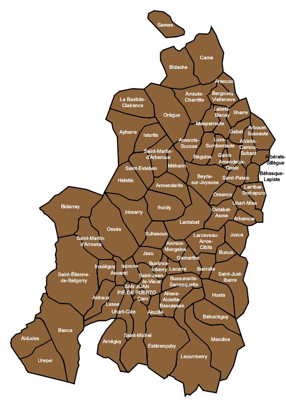 Wikipedia--Mapa de Baja Navarra.