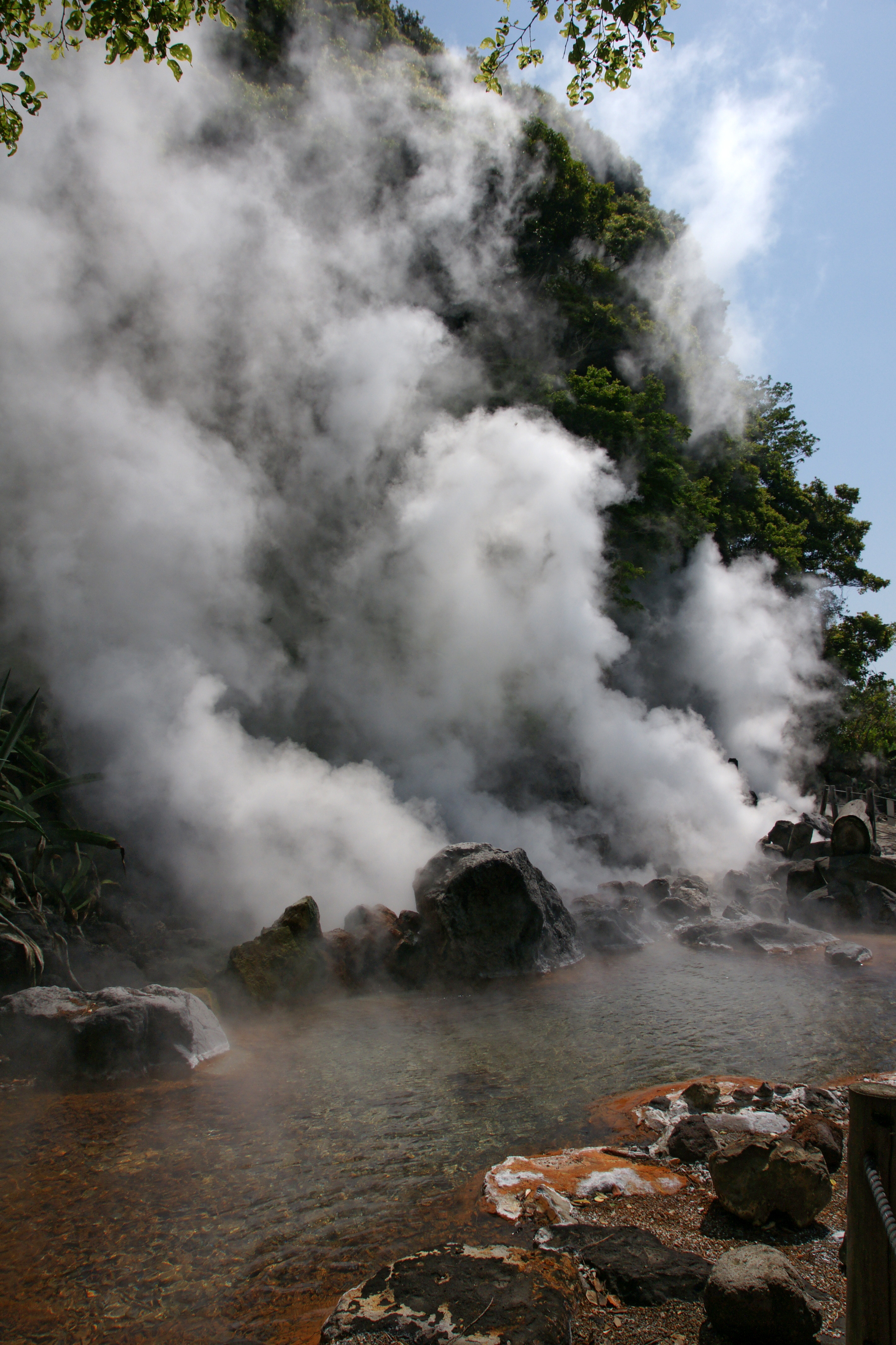 Relaxing in a hotspring may be more fun than dexascan testing, but it won't improve your bone health.