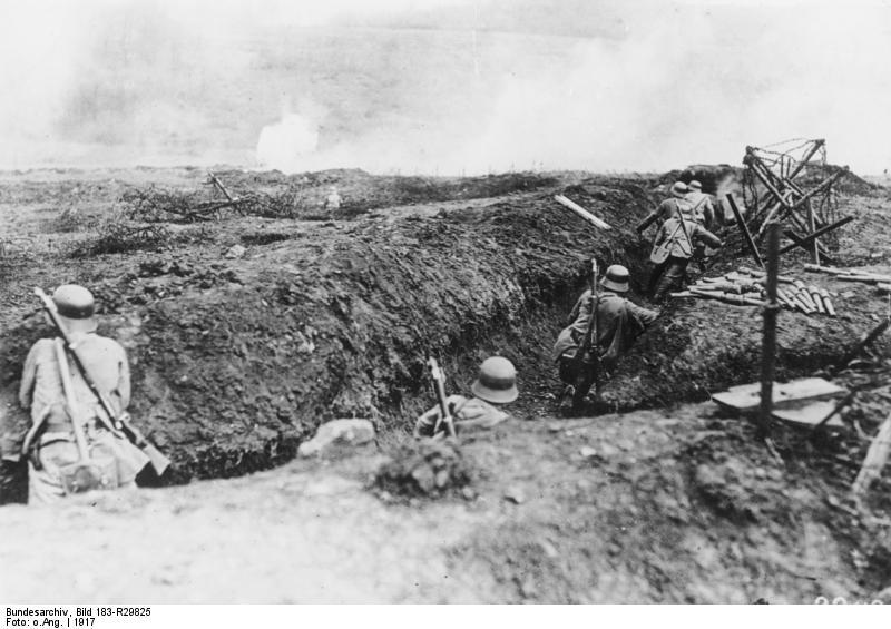 Στρατιώτες εφόδου το 1917