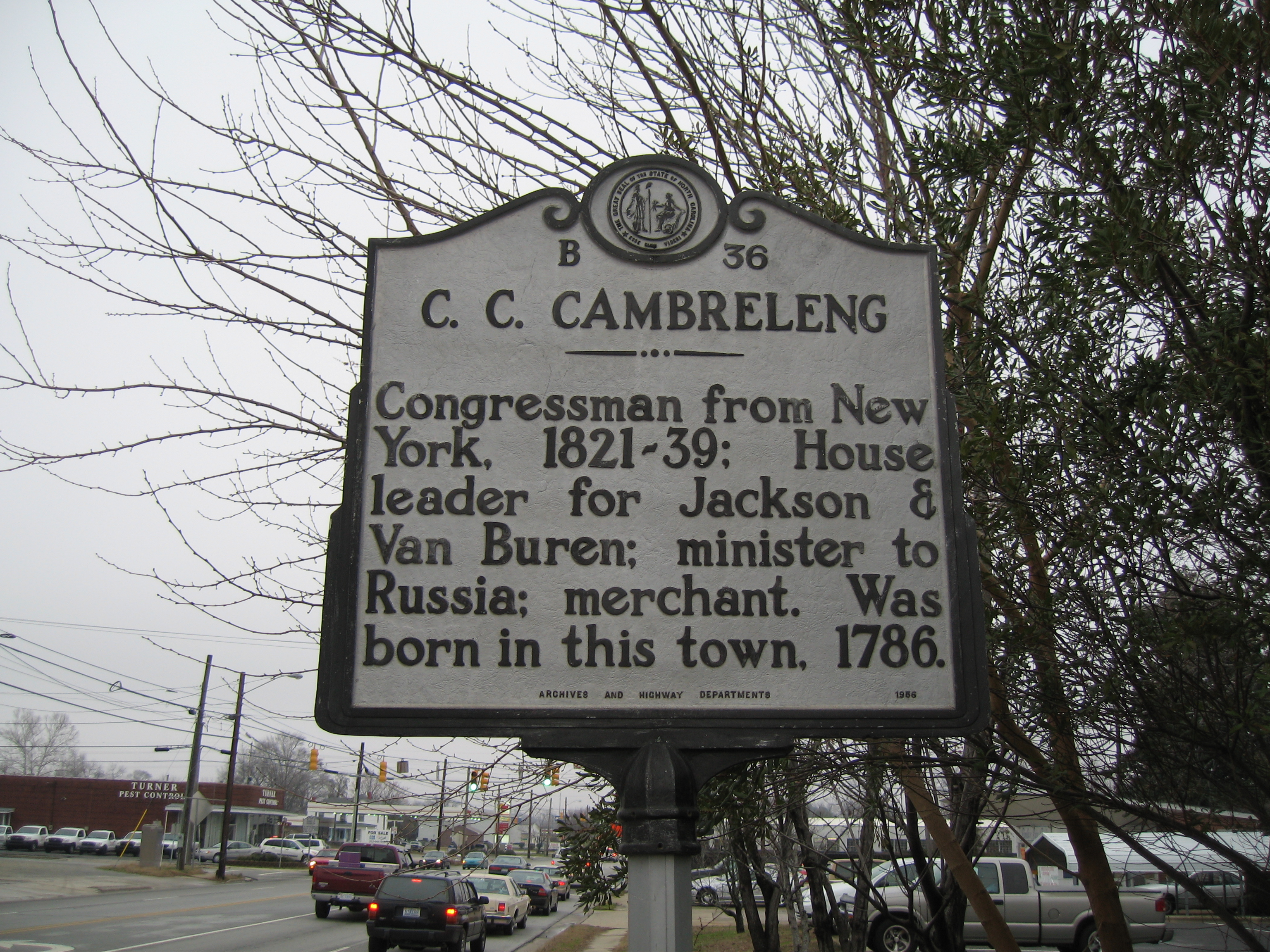 Churchill C. Cambreleng