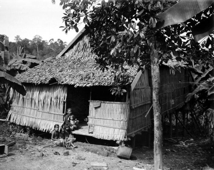 File collectie tropenmuseum het huis van een buginese peperplanter in soengai dondang koetai - Amenager een voorgerecht van het huis ...