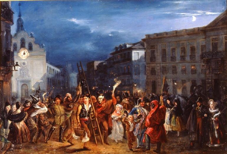 La musica notturna delle strade di madrid wikip dia for Puerta del sol historia