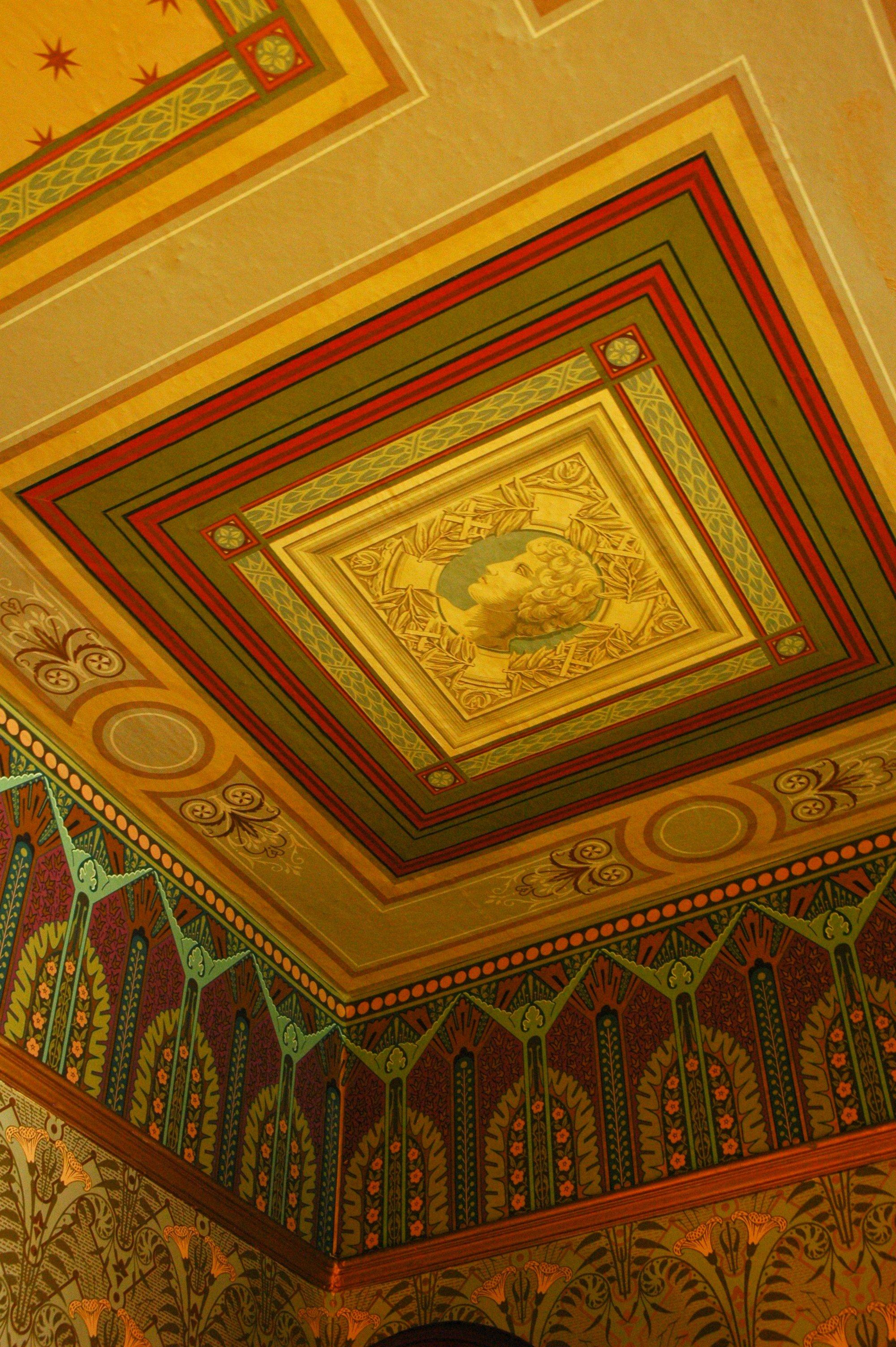 File:Ceiling wallpaper California 3194415183.jpg ...