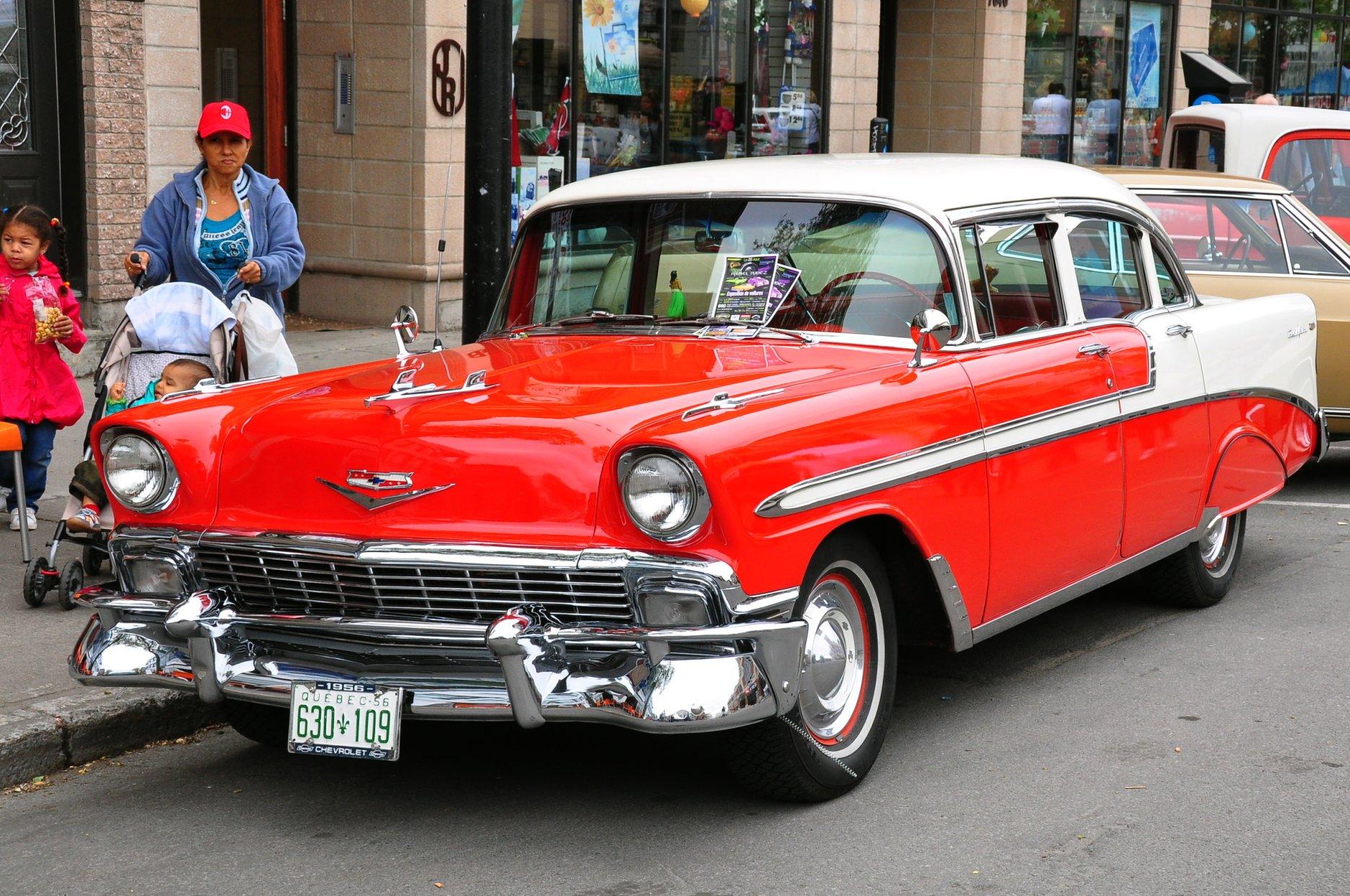 File:Chevrolet Bel Air 1956 (5864658507).jpg - Wikimedia Commons