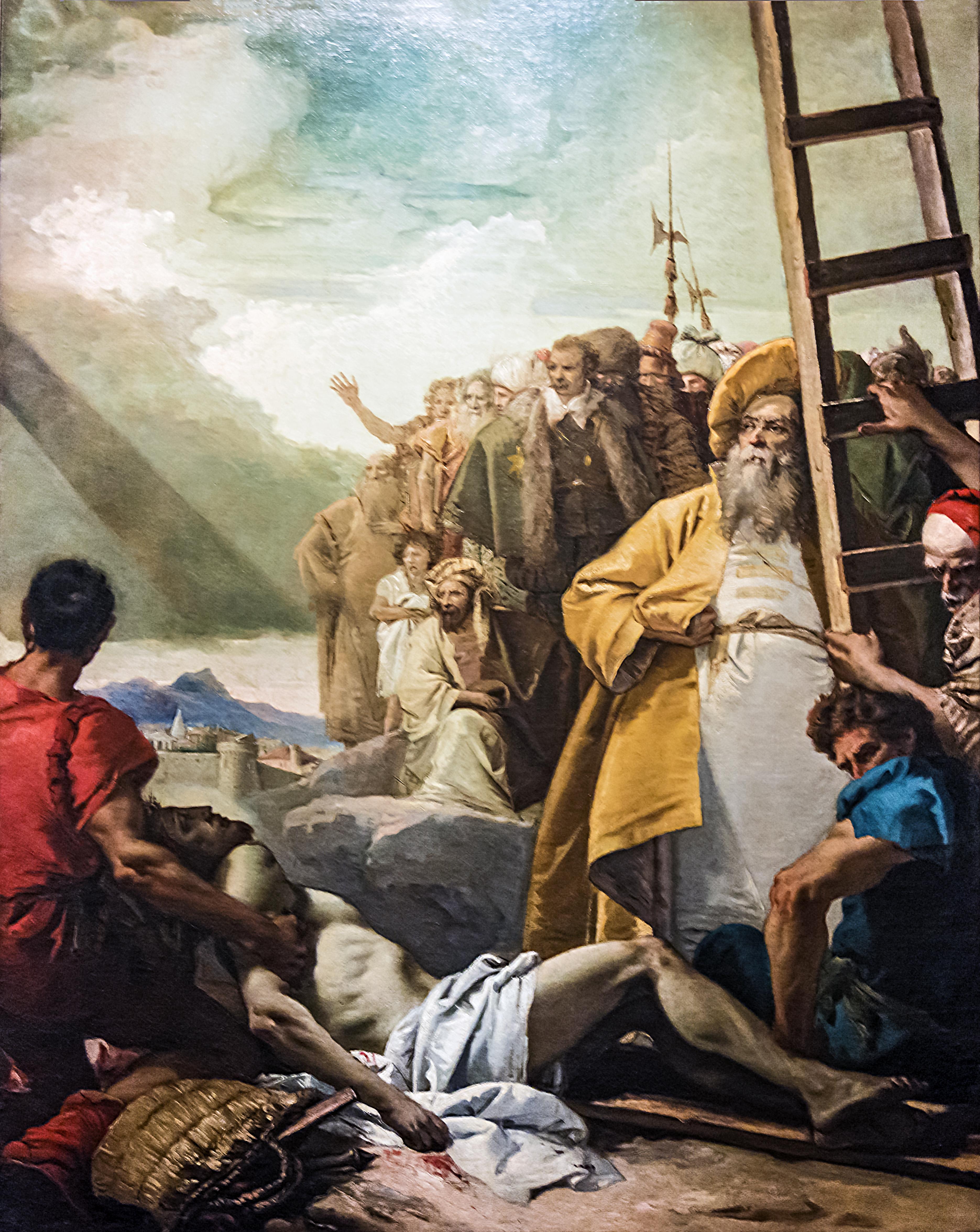 File:Chiesa di San Polo (Venice) - VIA CRUCIS XI - Jesus is nailed ...
