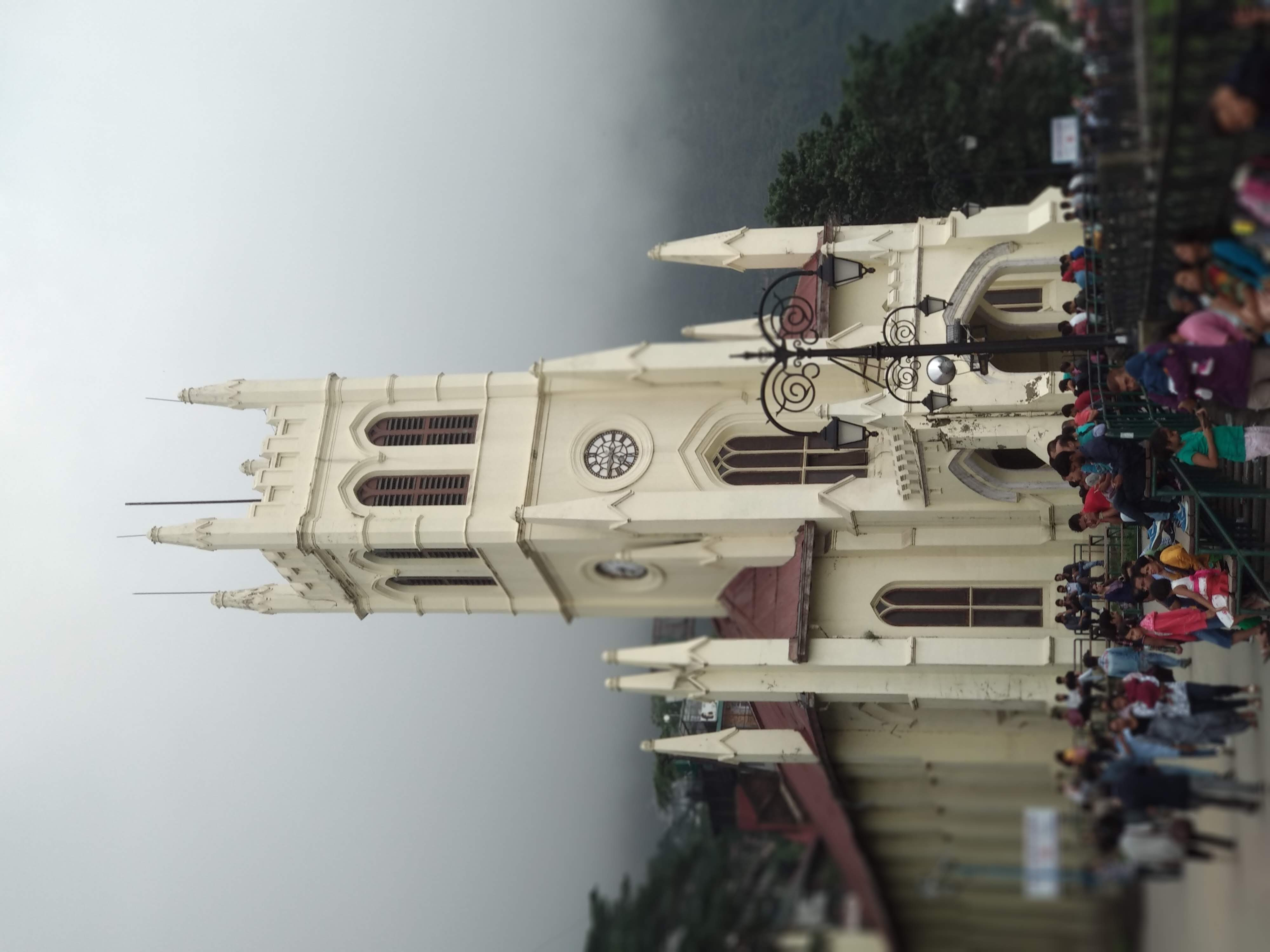 I, the copyright holder of this work, hereby publish it under the following license: English Christ Church, Mall Road, Shimla