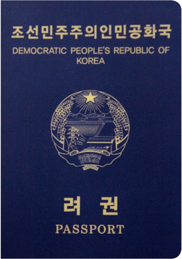 north korean passport