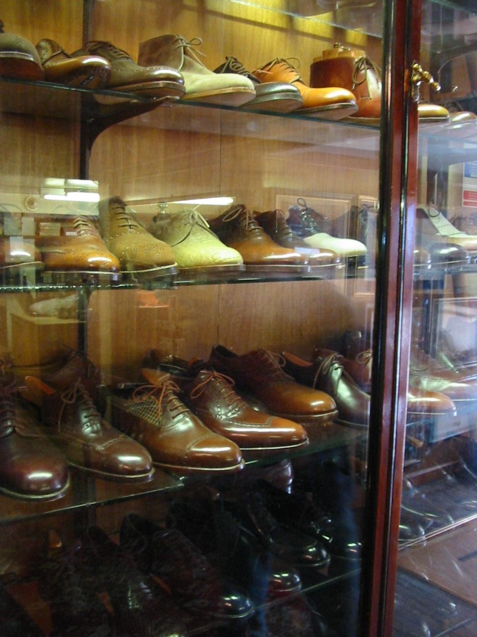 File Display Of Men S Shoes At John Lobb Bespoke Shoe And