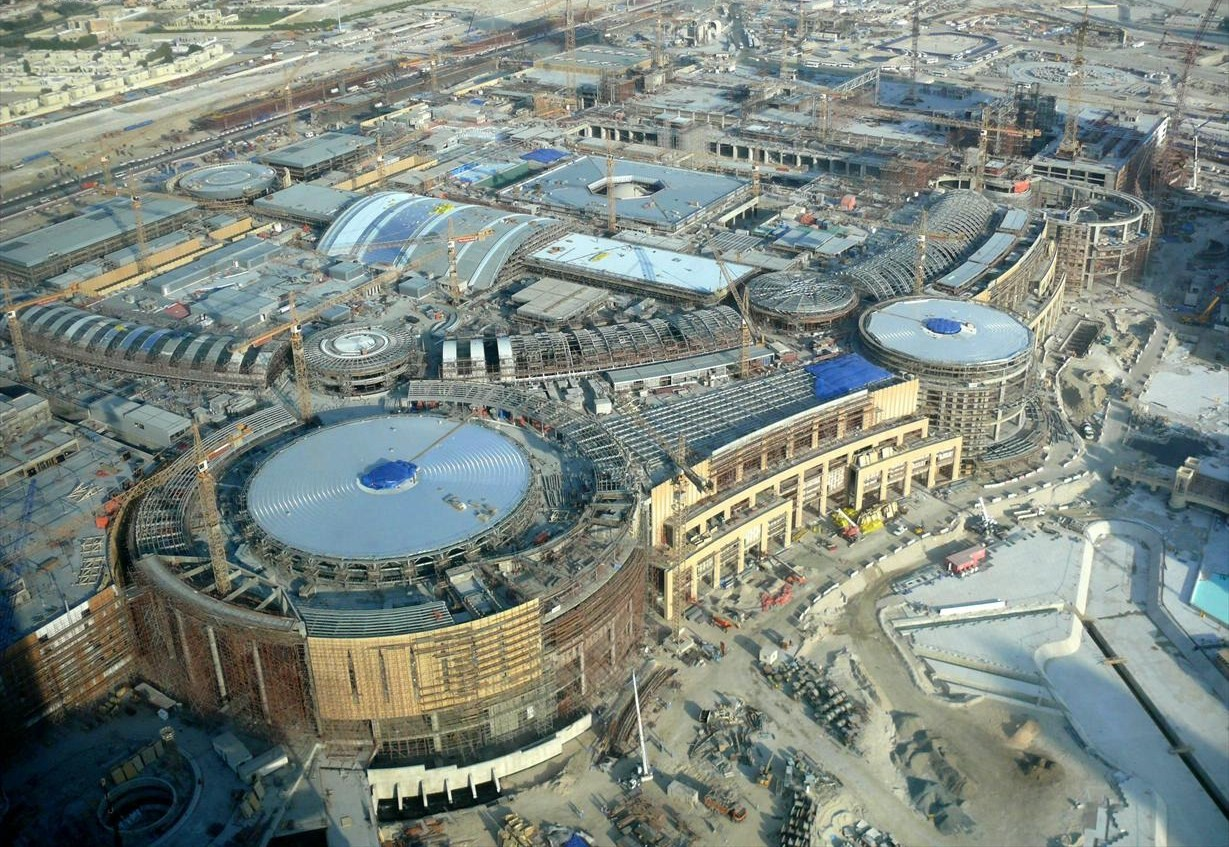 Les plus grands centre commerciaux (Mall ; Market ; Magasin) Dubai_Mall_Under_Construction_on_27_November_2007