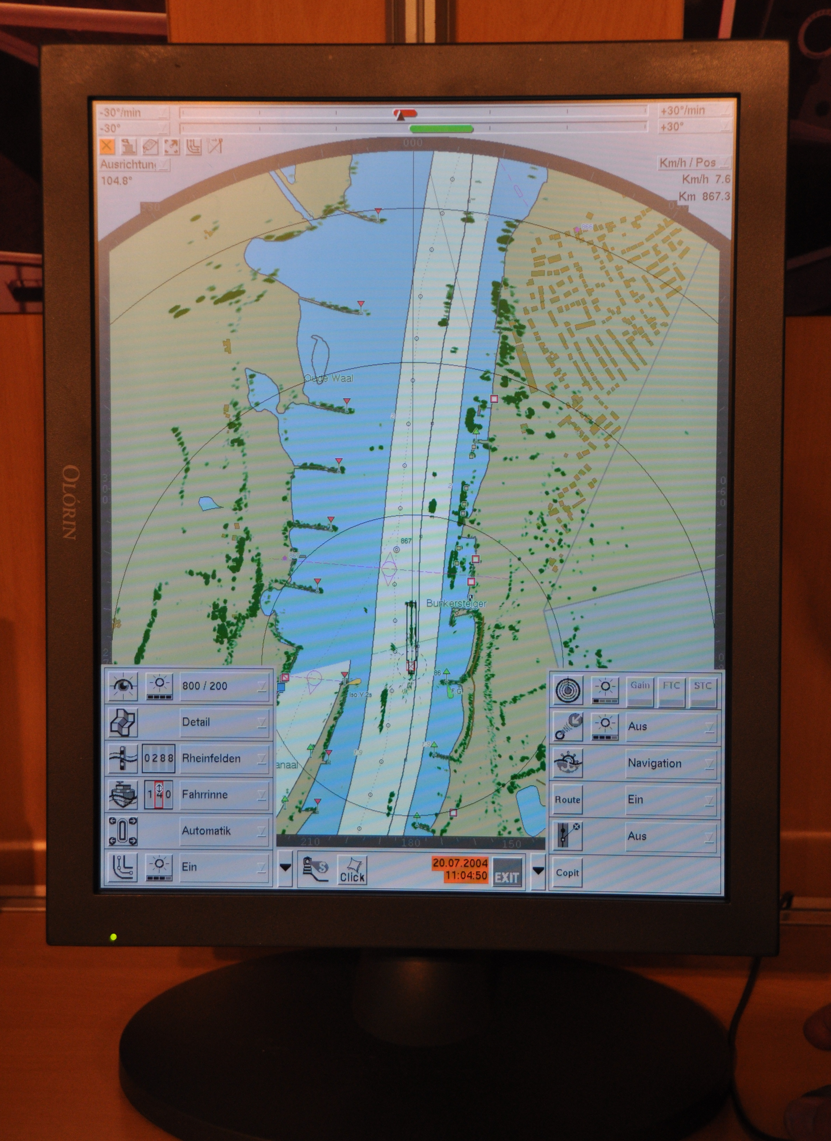 Charts In Powerpoint 2010: Electronic nautical chart of Radar Pilot 720º.JPG - Wikimedia ,Chart