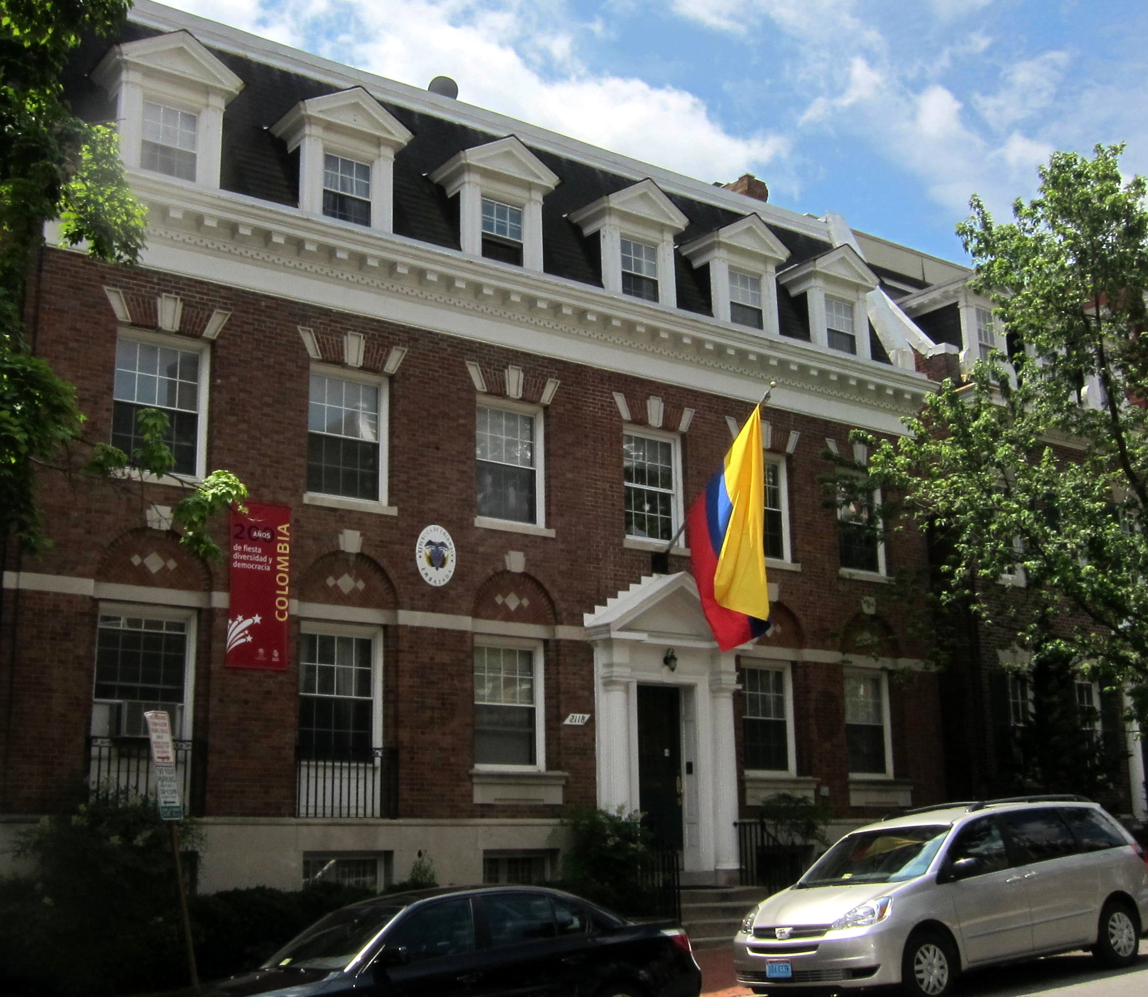 File:Embassy of Colombia in Washington, D C  JPG - Wikimedia Commons