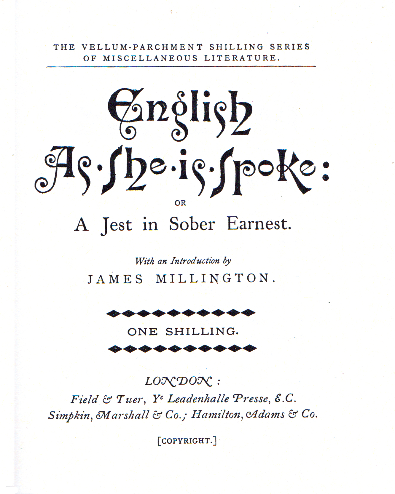 English As She Is Spoke — Wikipédia