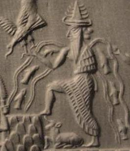 Enki god in Sumerian mythology