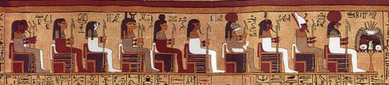 quelques dieux égyptiens.